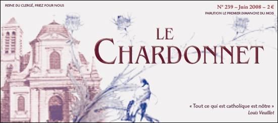"Bulletin ""Le Chardonnet"""