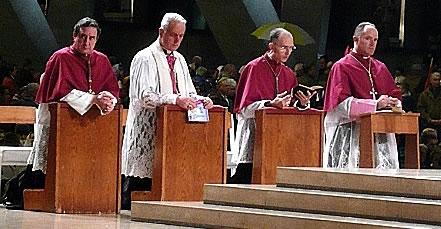 Les quatres évêque de la FSSPX