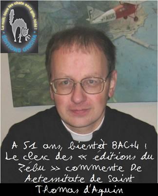 A 51 ans, l'abbé Grégoire Celier, le « théologien hygiéniste Bac+2 » de la Fraternité, a entrepris de devenir Bac+4