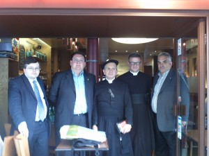 Jérome Borbon de Rivarol, M. Castagna, don Méramo, don Floriano Abrahamowicz, le Prof. Damiani