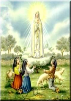Apparition de la Très Sainte Vierge, a Fatima, au Portugal, en 1917