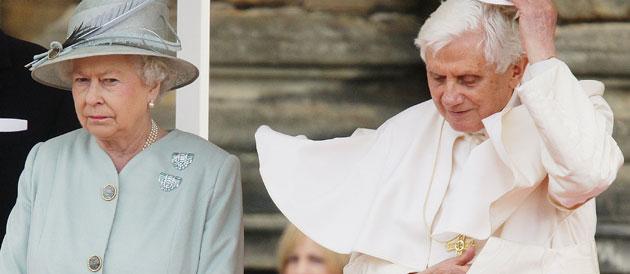 Elisabeth II et Benoit XVI