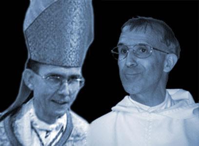Mgr Tissier de Mallerais et le Père Innocent-Marie d'Avrillé