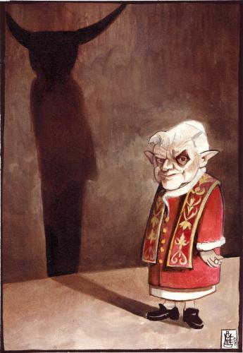 Benoît XVI, 'précurseur de l'Antéchrist'