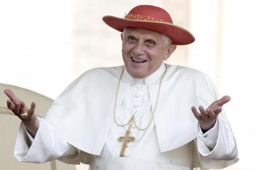 Joseph Ratzinger © Alessandra Benedetti/Corbis