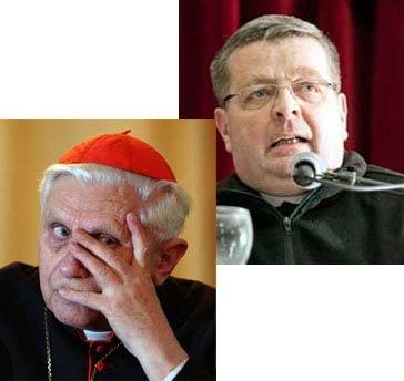 Abbés Bouchacourt et Ratzinger
