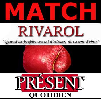 Match Rivarol-Présent