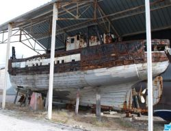 "The ""Virgo Maria"", built in 1957 ...  Lefebvre in ...  and dried up in 1997 will be honored before probably destroyed."
